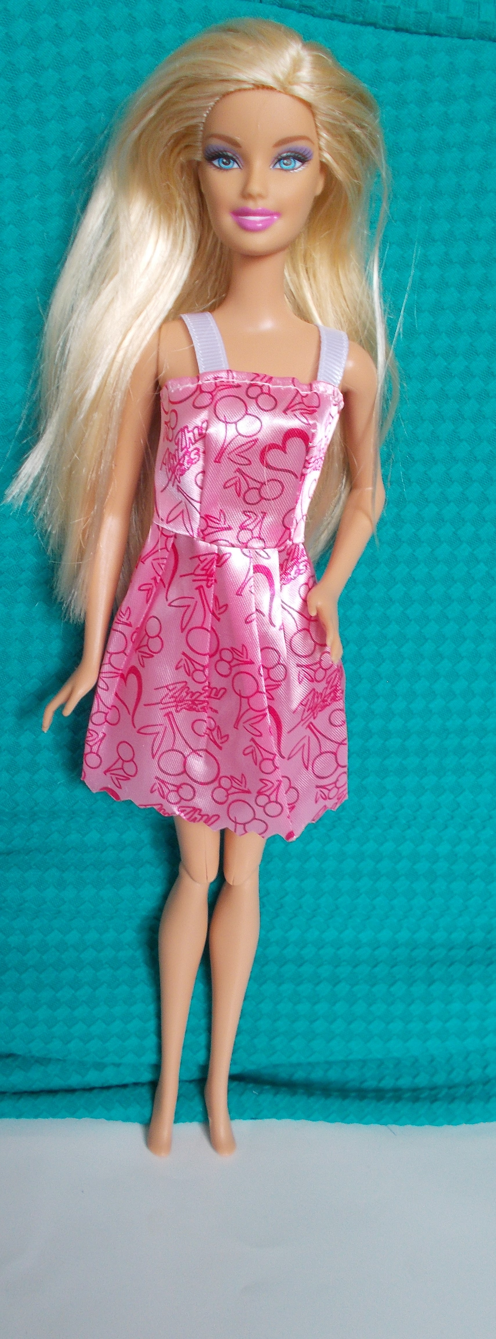 Blond Barbie