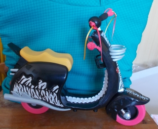 Monster High motorka