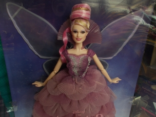 Sběratelská Barbie Plum Fairy - Nutcracker