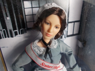 Sběratelská Barbie Florence Nightingale